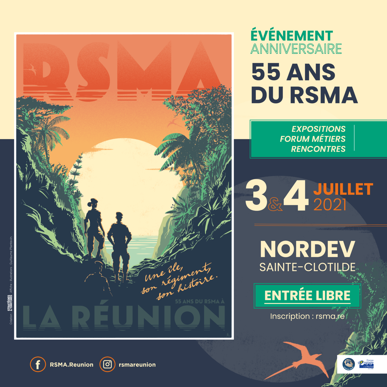 RSMA __55ans_Réunion
